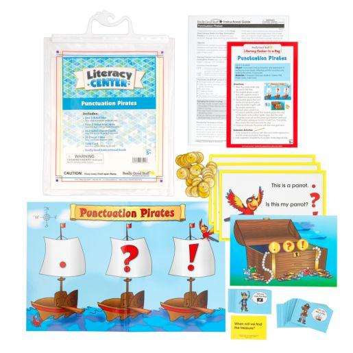 Punctuation Pirates Literacy Center? - 1 literacy center