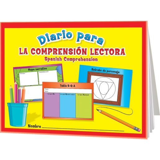 Diario para la comprensión lectora (Spanish Reading Comprehension Journals) - 12 journals
