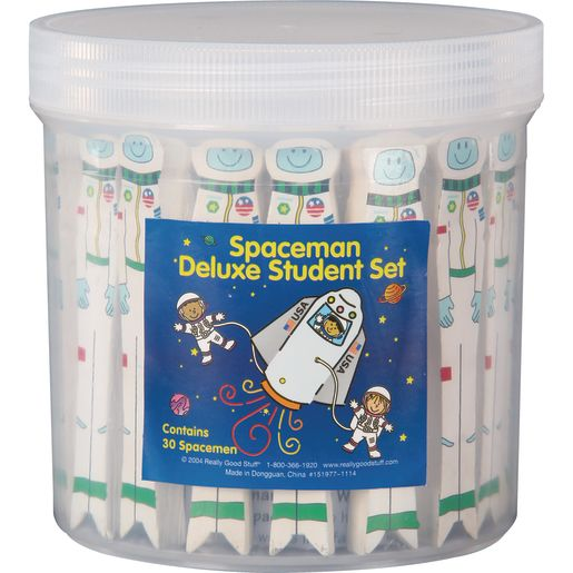 Spaceman Kit With Student And Teacher Size - 31 Spacemen, 1 case
