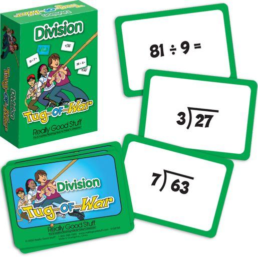 Really Good Tug-Of-War: Division - 64 cards