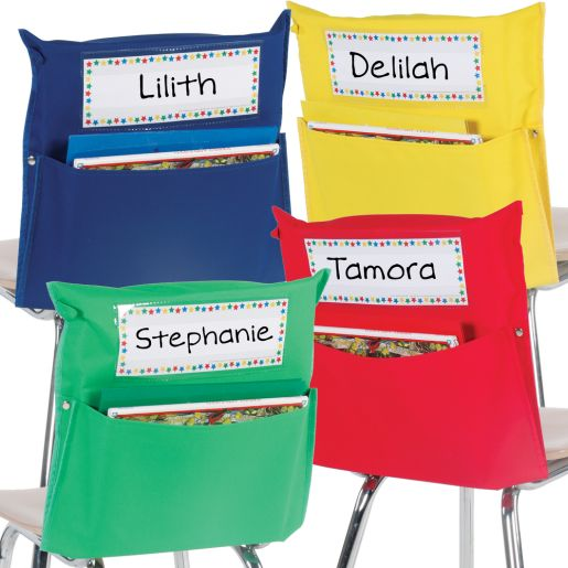 Store More® Grouping Chair Pockets - Set Of 32
