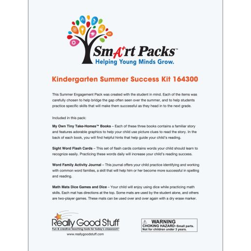Summer Learning Kit - 1st Grade (Entering Grade 2)