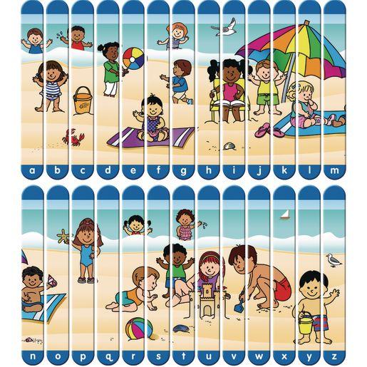 Picture Sticks™ - Alphabet - 2 puzzles, 1 bag