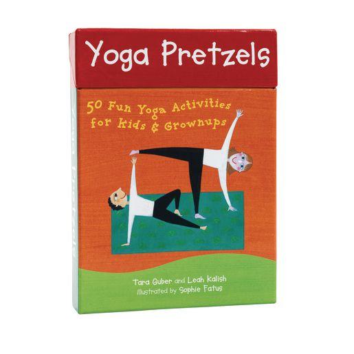 Yoga Pretzels: 50 Fun Yoga Activities for Kids and Grownups_2