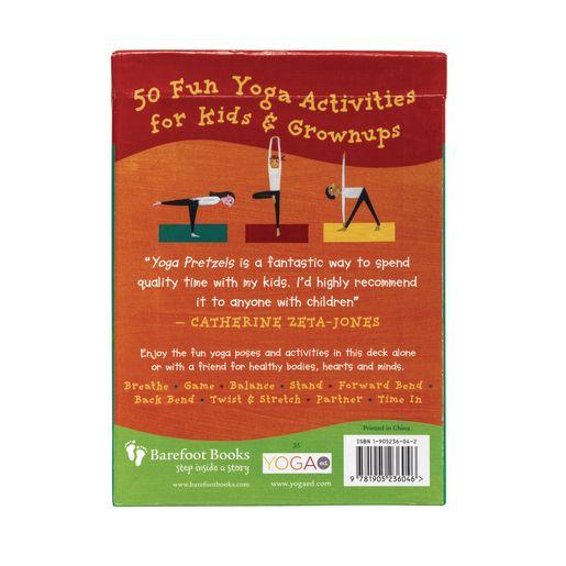 Yoga Pretzels: 50 Fun Yoga Activities for Kids and Grownups_3