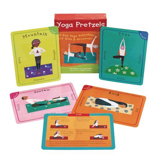 Yoga Pretzels: 50 Fun Yoga Activities for Kids and Grownups_4