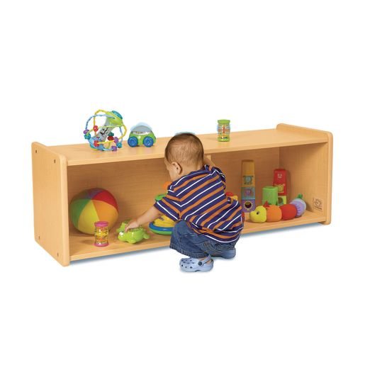Environments® Infant Storage Shelves with Maple Laminate Back