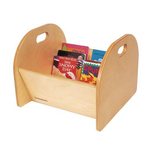 Environments® Wooden Book Bin