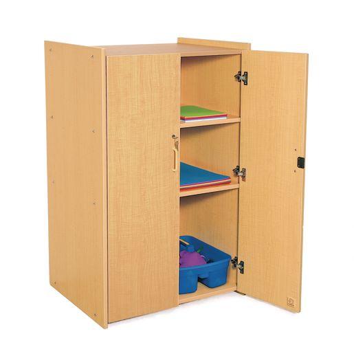 Lockable Storage, Maple Laminate