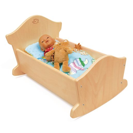 Environments® Wooden Doll Cradle