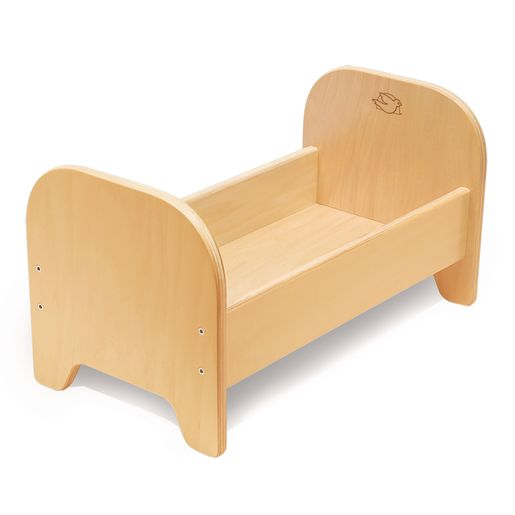 Environments® Wooden Doll Bed