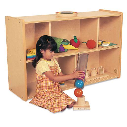 """30"""" High Storage Shelves, Maple Laminate"""