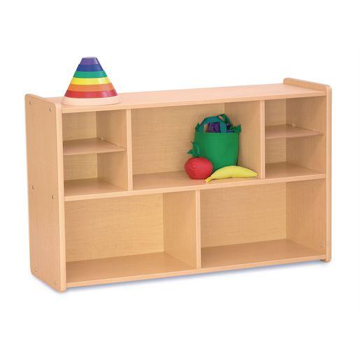 "30"" High Storage Shelves, Maple Laminate"