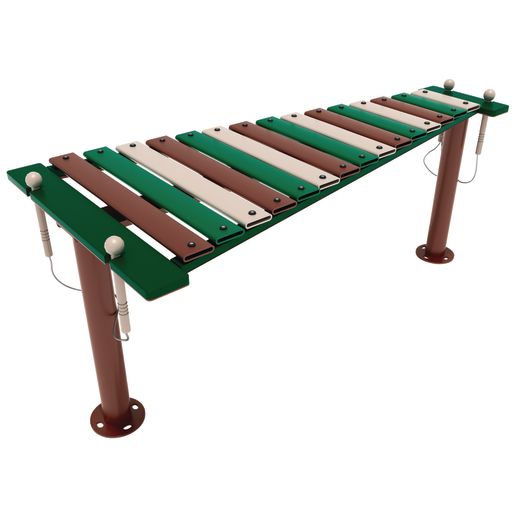 Outdoor Musical Playground Structures Set of 3