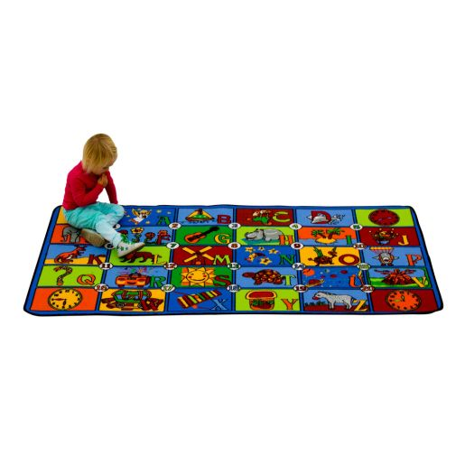 Time to Learn Play Carpet