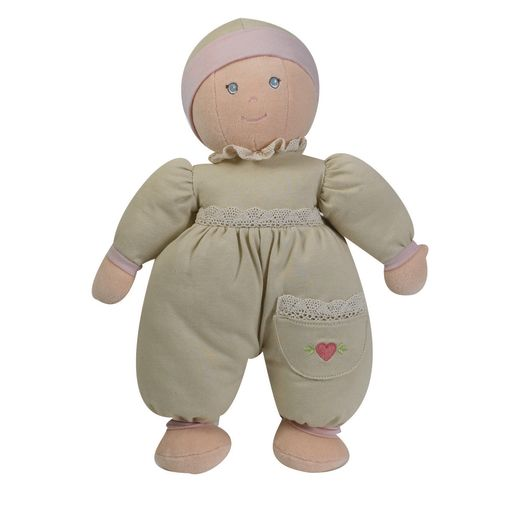 Organic Cuddly Girl - Light Skin