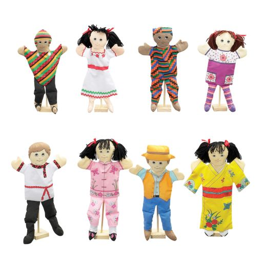 Ethnic Puppets