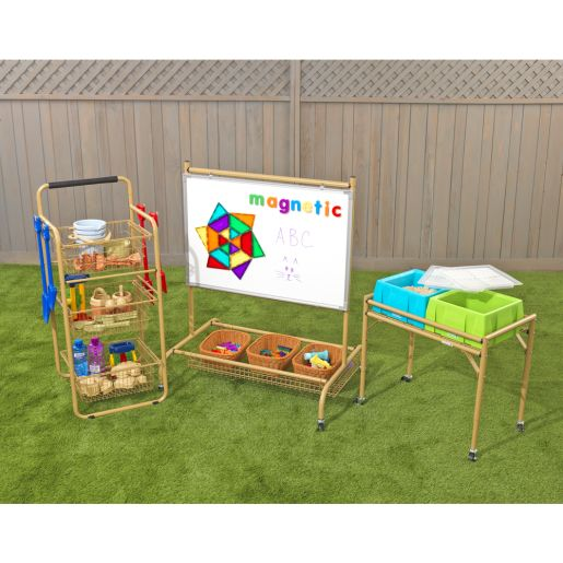 Excellerations(r) Outdoor Play & Storage Set