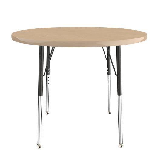 "36"" Round Table, Maple/Maple"
