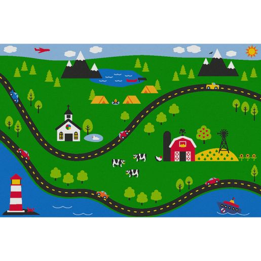 Sunday Drive Value Rug - Rectangle Small