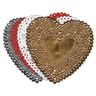 """Small Heart Doilies, 4"""" - Pack of 100"""