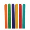 Colorations Colored Regular Craft Sticks - 150 Pieces
