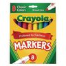 Crayola® Conical Tip Markers - Regular, Set of 8