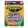 Crayola® Bold Colors Washable Markers - Set of 8