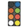 Colorations® 8 Color Tempera Paint Cakes in Tray - Set A