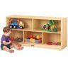 Toddler Mobile Shelving Unit
