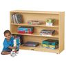 Jonti-Craft® Super-Sized Mobile Adjustable Bookcase without Lip