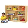 "35 1/2""H Mobile Divided Shelf Storage - Hardboard Back"