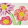 Colorations® Gel Paint, Fluorescent Red, 16 oz.