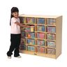 20-Tray Mobile Storage Unit without Trays