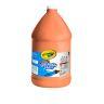Orange Crayola® Washable Paint, 1 Gallon