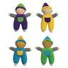 Excellerations® Multicultural Velour Soft Baby Dolls - Set of 4