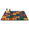 "Blocks of Fun 8'4"" x 11'8"" Rectangle Premium Carpet"