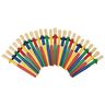 Colorations® Non-Roll, No-Drip Paint Brushes - Set of 24