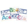"Big Alphabet and Picture Stencils, 13""L - Set of 26"