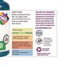 Colorations® Washable Glitter Finger Paint, Turquoise - 16 oz.