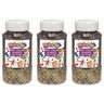 Colorations® Extra-Safe Plastic Glitter, Multi - 3 lbs.
