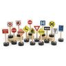 Excellerations® Traffic Signs for Block Play - Set of 15
