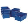 MyPerfectClassroom® Easy-Label Bin - Blue