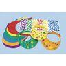 Colorations® Fun Foam Visors Craft Kit, Set of 12