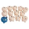 Colorations® Decorate A Piggy Bank - Set of 12