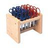Colorations® Natural Wood Scissor Rack