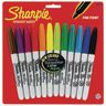 Sharpie® Multi-Colored Permanent Fine-Tip Markers - Set of 12