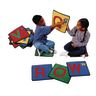 "Alphabet 12"" Squares - Set of 26 Kids Value PLUS Carpets"