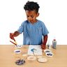 Colorations® Wooden Photo Frame Ornaments - Set of 12
