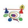 Obstacle Course Activity Set - 70 Pieces